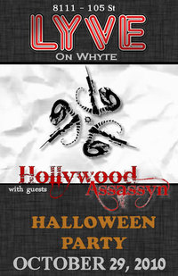 Hollywood Assassyn 2010 Halloween Show